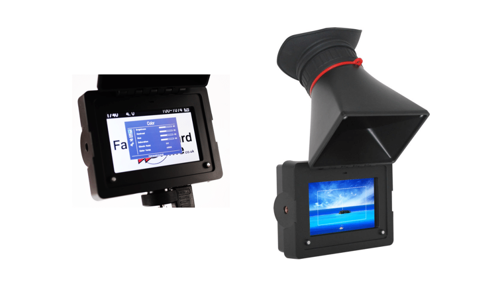 Viewfinder LCD Display