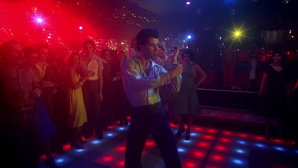 Saturday Night Fever-John Badham PLANOS DE UMA CENA