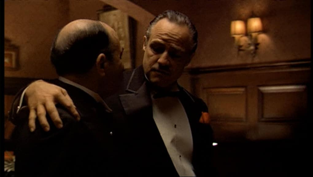The-Godfather-Francis Ford Coppola PLANOS DE UMA CENA