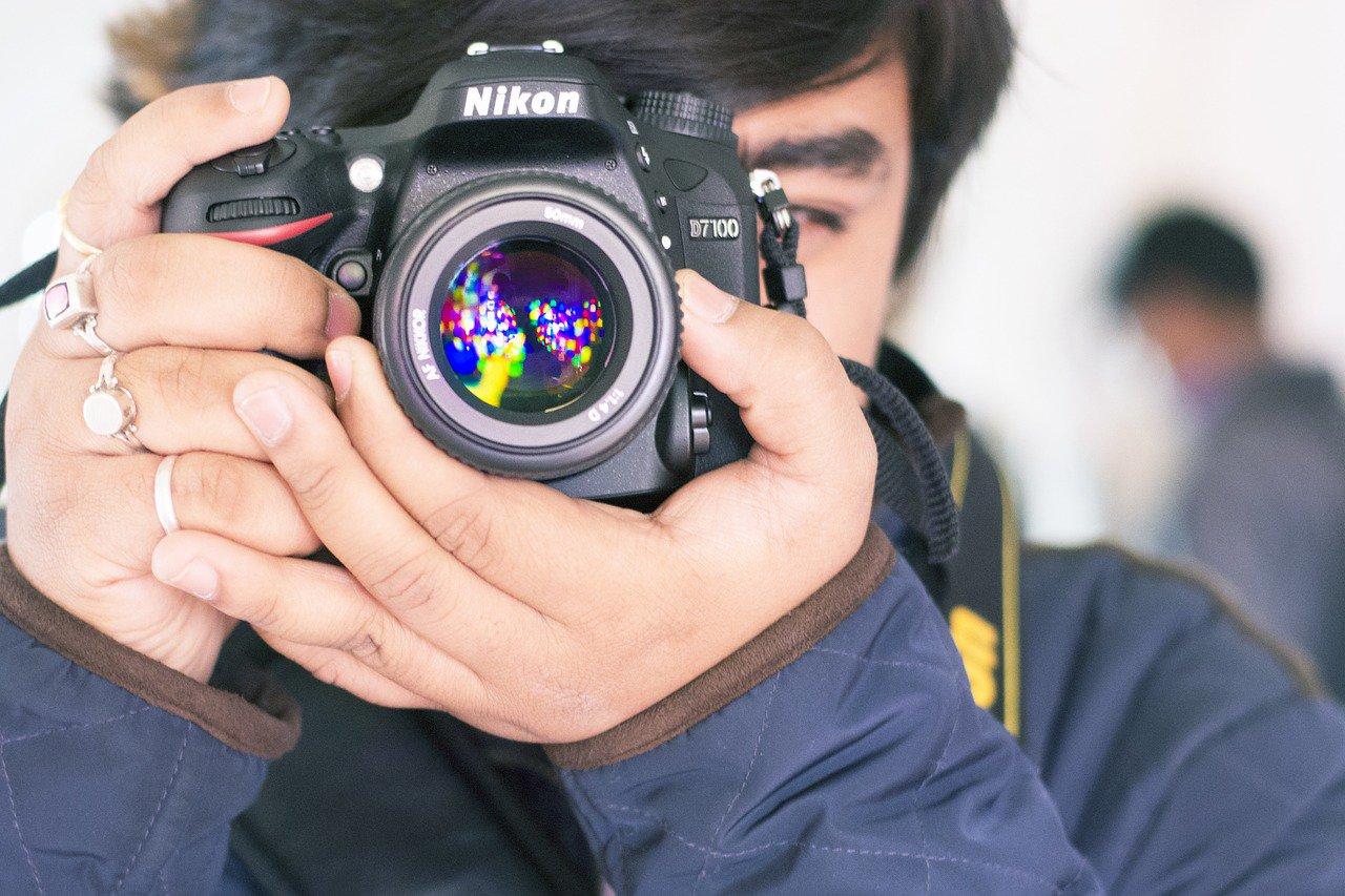 fotógrafo iniciante