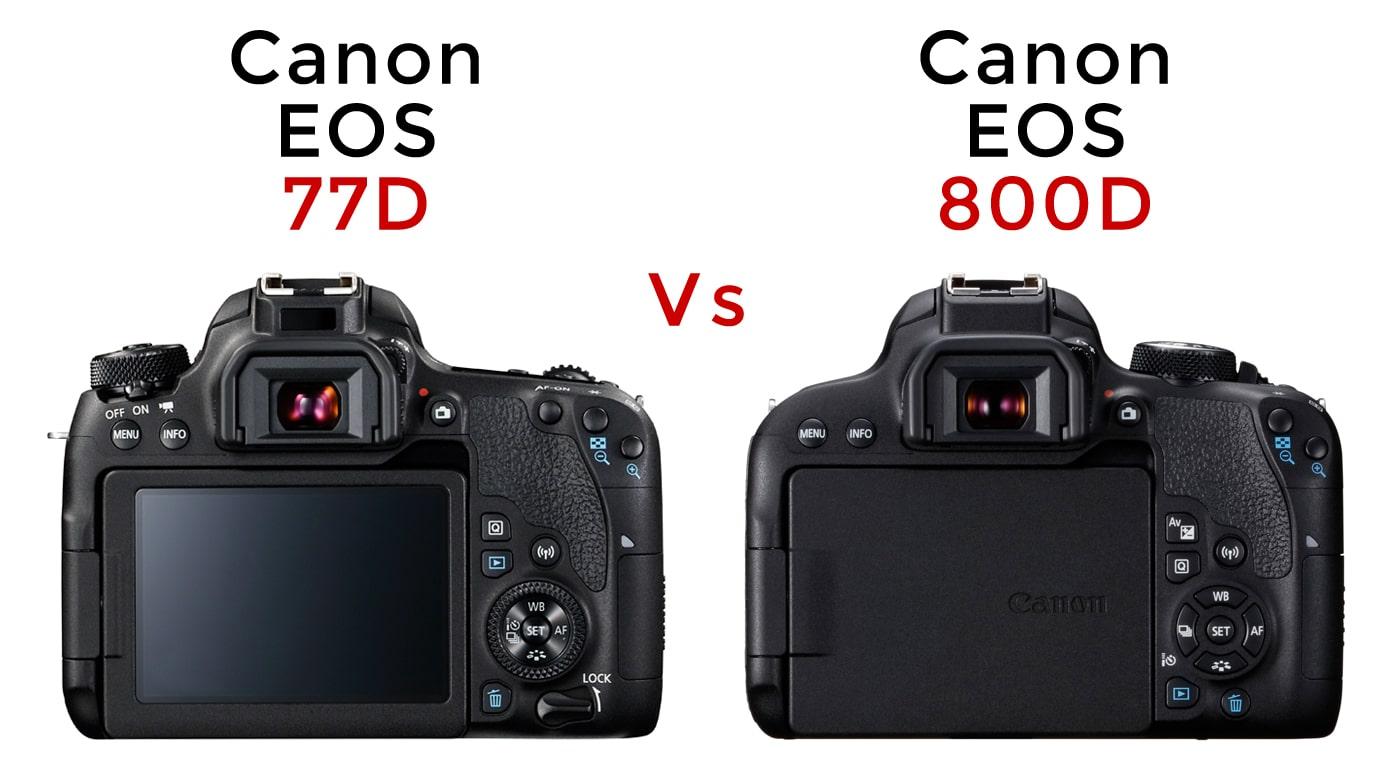 Câmera DSLR Canon 77D