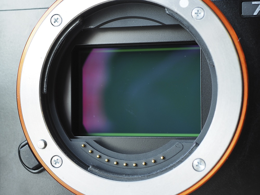 sensor de imagem para câmeras DSLR