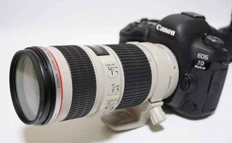 Lente Canon EF 70-200MM F/4L USM - Review
