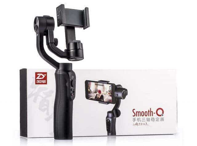 Estabilizador Inteligente Smooth-Q para Smartphone