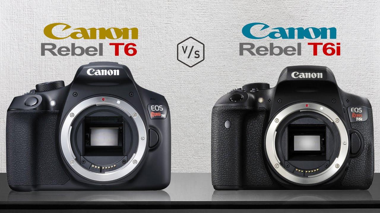 Canon T6 x T6i ! Qual a Diferença?