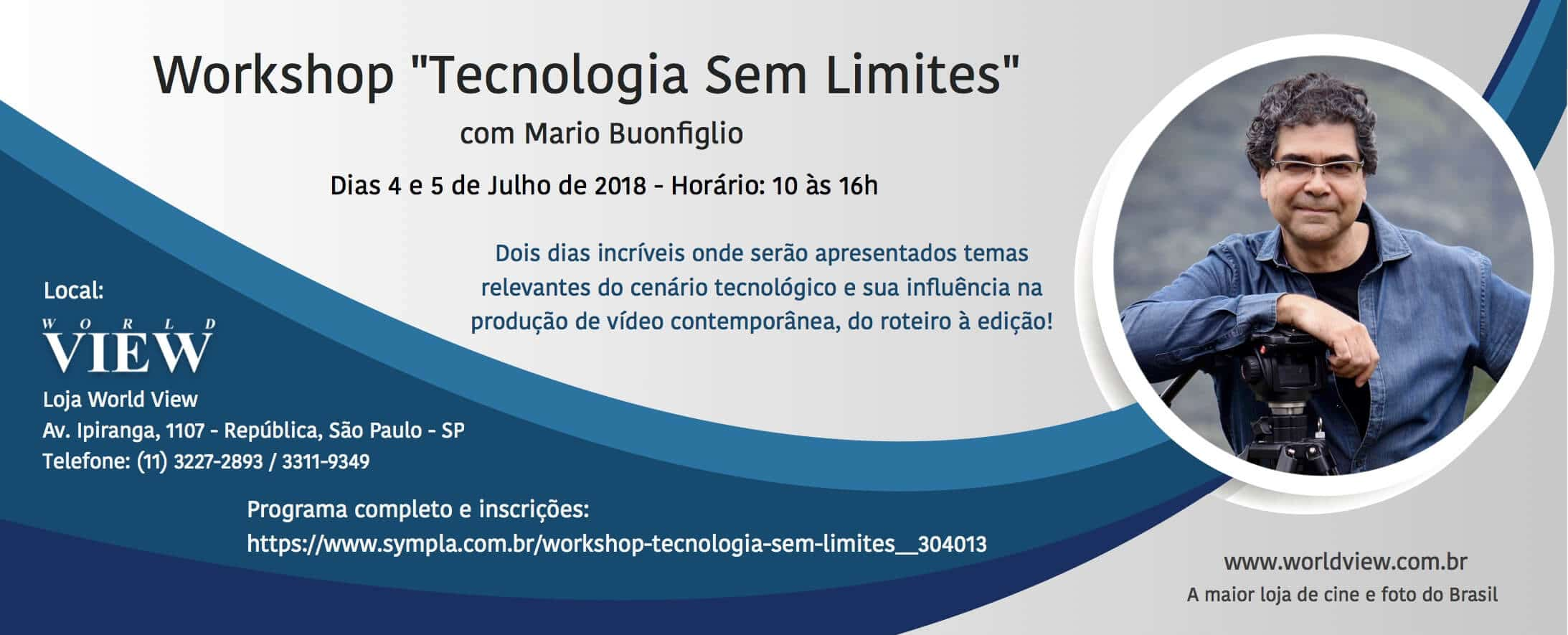 "Workshop ""Tecnologia sem Limites"" 