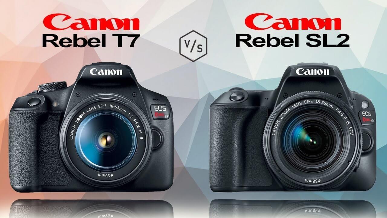 Devo obter o Canon EOS Rebel T7i ou Rebel SL2
