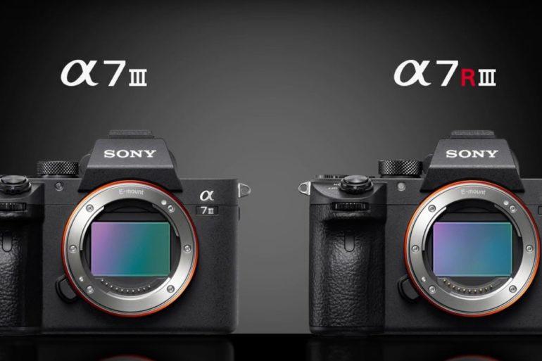 Comparação: Sony Alpha A7RIII vs A7III Mirrorless