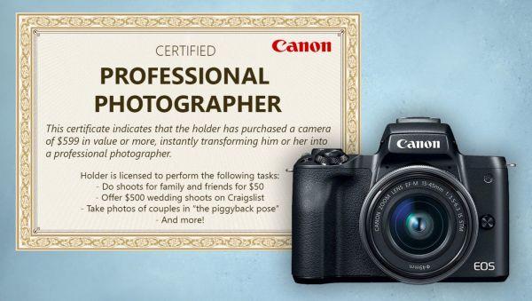 """Site tira sarro de supostos """"fotógrafos profissionais"""" usando a Canon"""