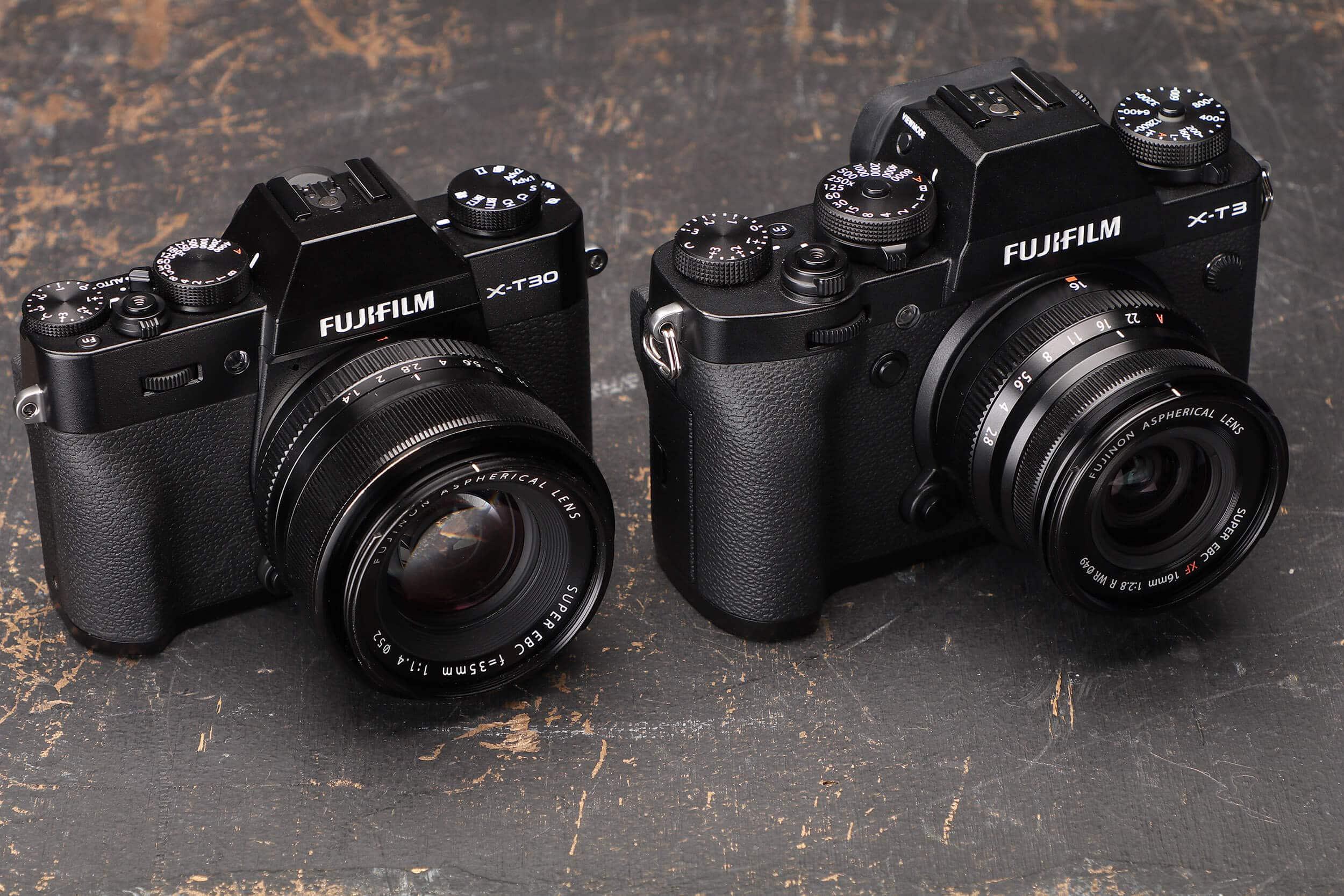 Comparação: FujiFilm X-T3 vs FujiFilm X-T30