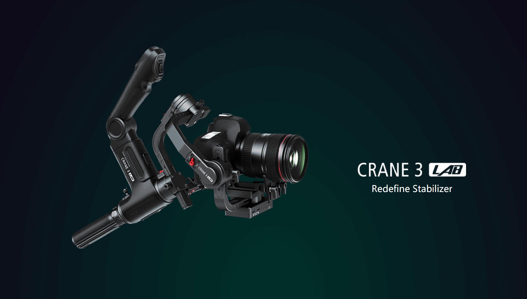 Gimbal Zhiyun Crane 3 LAB: Um Estabilizador, Diversas Possibilidades