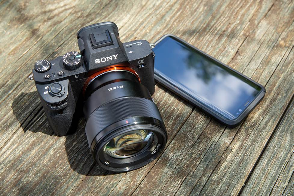 SmartPhone vs Câmera Mirrorless vs DSLR