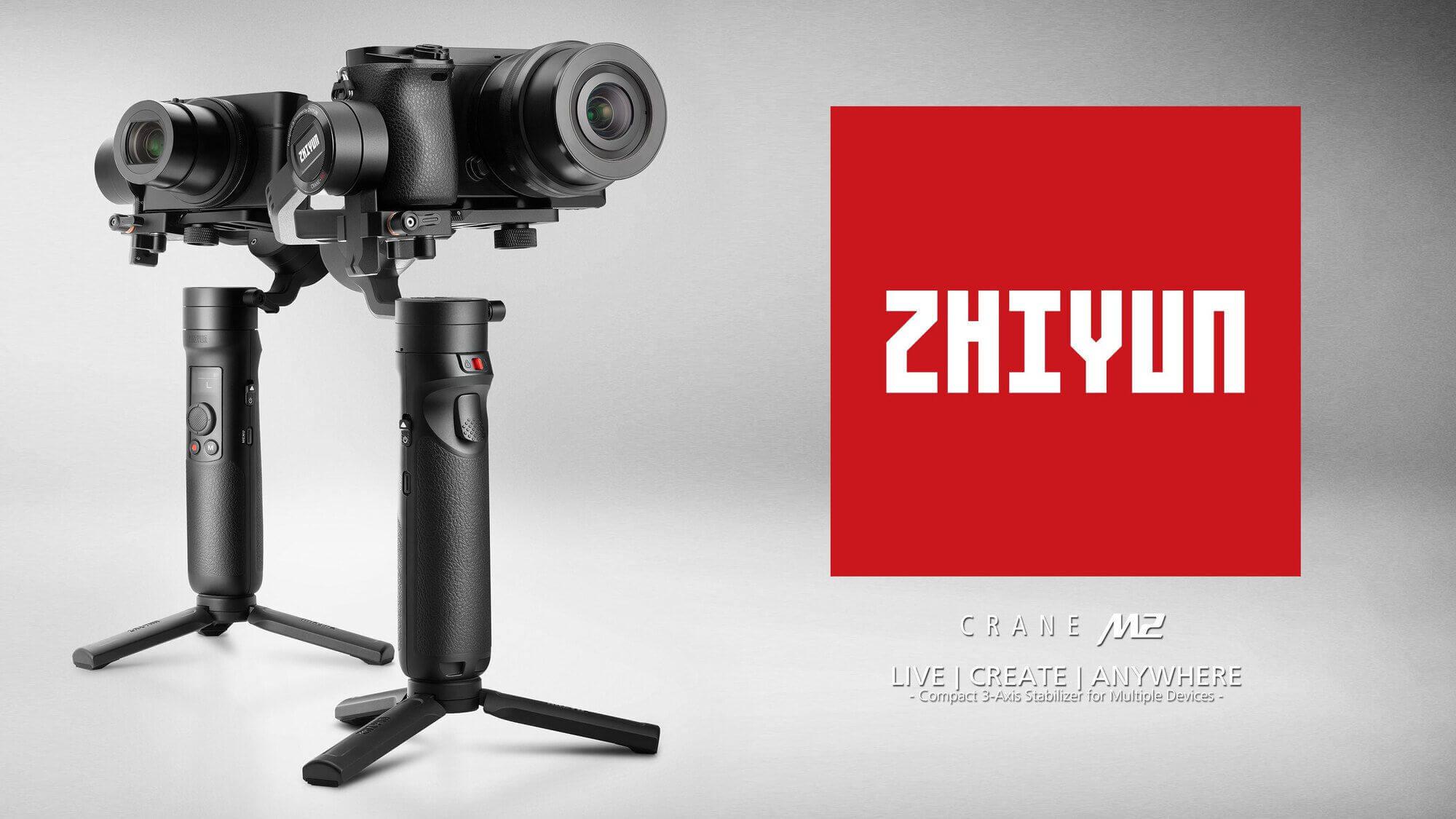 Zhiyun Anuncia o Novo Crane-M2. A Nova Definição de Gimbal Compacto