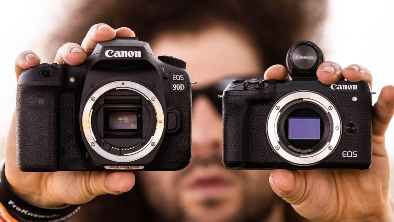 DSLR EOS 90D e Mirrorless M6 Mark II: Características dos Novos Modelos de Câmera da Canon