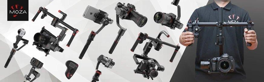 Estabilizadores Moza: Conheça o Diverso Catálogo de Produtos para a Criação Profissional de Filmes.