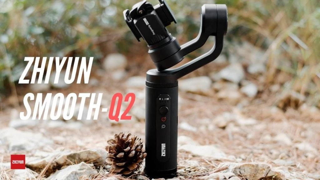 Review Gimbal Zhiyun Smooth-Q2 para SmartPhones