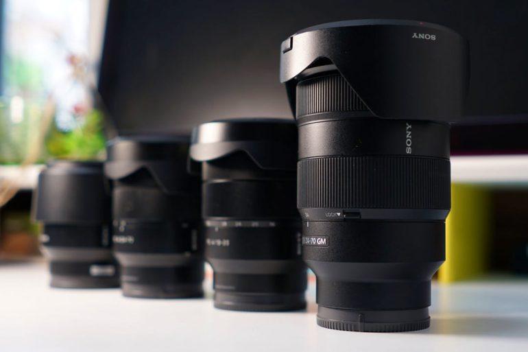 Como ler as especificações de uma lente Sony