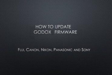 Atualizacaoss Godox de Firmware e Manuais para Flashes e Disparadores