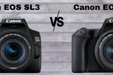 Canon EOS SL3 vs Canon EOS SL2