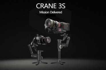 Zhiyun anuncia o Gimbal Crane 3S - O novo estabilizador para Câmeras de Cinema.