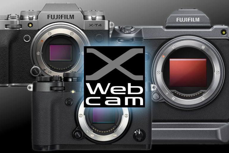 FujiFilm lança APP para transformar suas Câmeras Mirrorless em poderosas WebCams