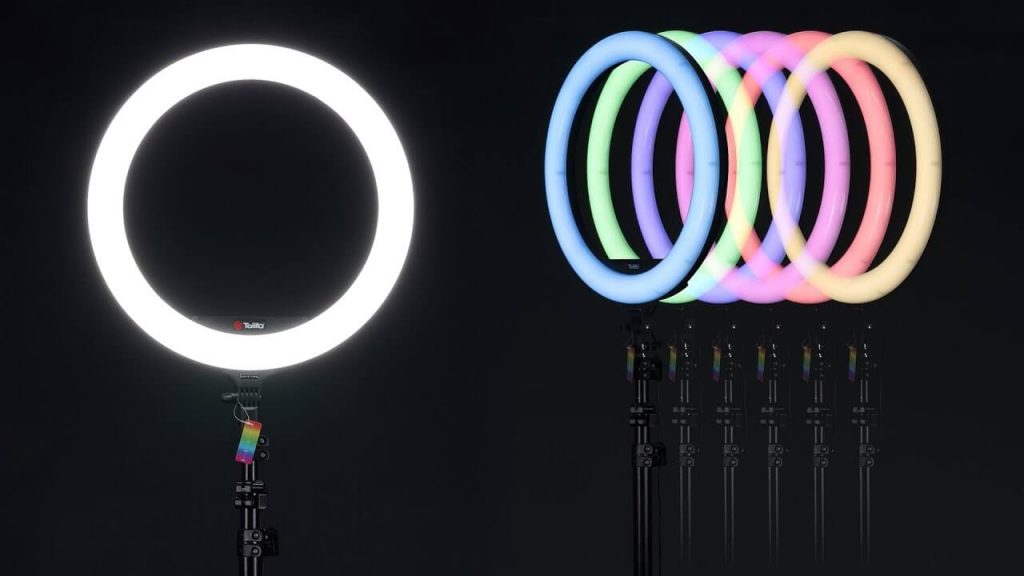 Iluminador Circular Led Ring Light RGB