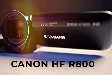 Filmadora Canon Vixia HF R800 Full HD Zoom 57x / Filmadora Canon R800