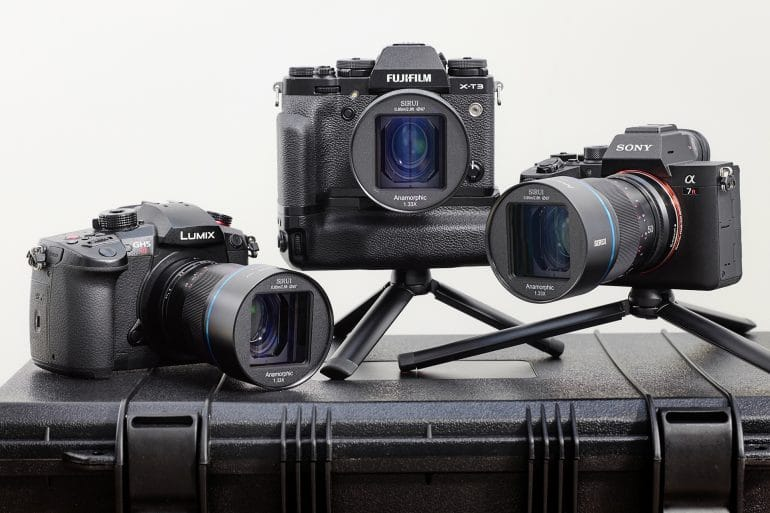 Lente Anamórfica Sirui 50mm: Para Imagens Cinematográficas