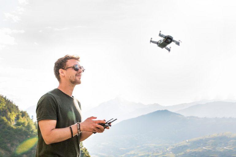 Fotografia Aérea Com Drones