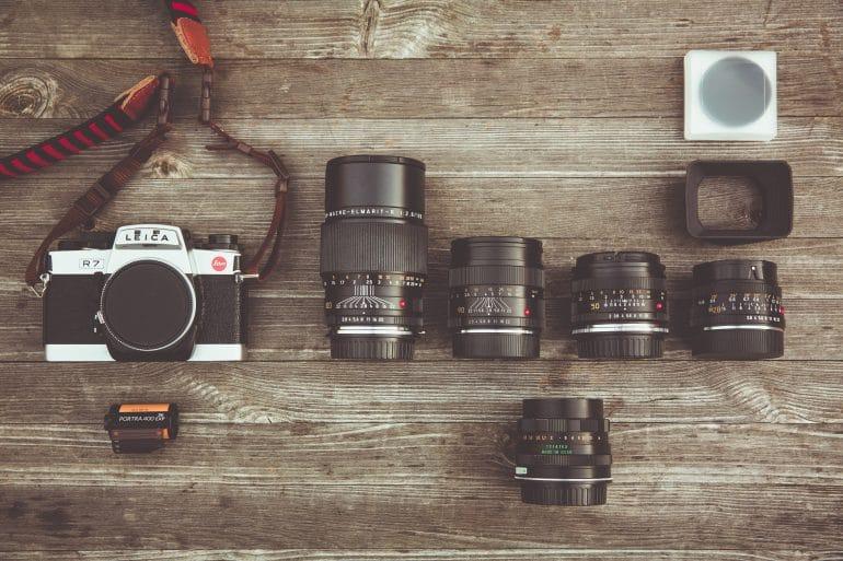Lentes de Câmera (recursos básicos)